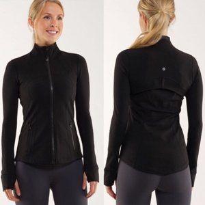 Lululemon Define Jacket Full Zip Black   Size 8